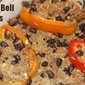 Ground Turkey and Rice Stuffed Bell Peppers