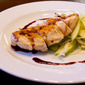 Pan Roasted Chicken with Pomegranate Reduction and Fennel Apple Salad Recipe