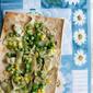 Artichoke Lavash Flatbread Pizza