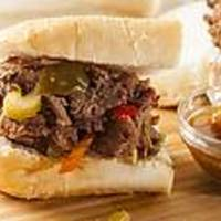 Crockpot Italian Beef for Sandwiches