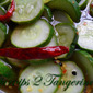 Spicy Refrigerator Pickles