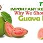 Top 10 Health Benefits of Guava Fruit