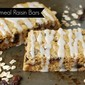 Iced Oatmeal Raisin Bars