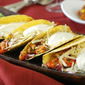 Spicy Crawfish Tacos w/ Pineapple Salsa