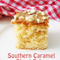 Southern Caramel Sheet Cake....step by step.