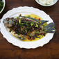 Steamed Tilapia With Spicy Oyster Sauce