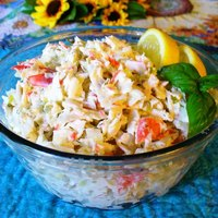 Deli-Style Imitation Crab Seafood Salad