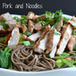 Peanut Pork and Noodles