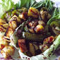 Grilled Veggie and Pineapple Salad
