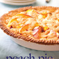 Confessions of a Peach Addict- Sour Cream Peach Pie