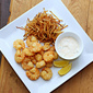 Fried Shrimp with Tartar Sauce