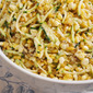 Zucchini, Sweet Corn and Kamut Salad Recipe with Meyer Lemon Vinaigrette