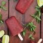 Cherry Mojito Ice Pops {#10lbCherryChallenge}