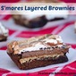 S'mores Layered Brownies