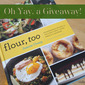 "Giveaway: ""Flour, Too"" Cookbook + Flour's Focaccia Recipe"