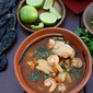 Caldo de Camaron y Pescado {#SundaySupper: Spice It Up}