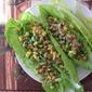 "Pea, Corn, Pumpkin Seed Lettuce Wraps 素生菜""包"""