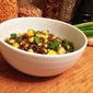 Warm Summer Squash and Lentil Salad
