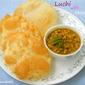 Luchi with Cholar Dal