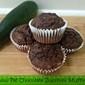 low fat chocolate zucchini muffins