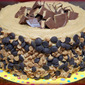 REESE'S OVERLOADED CAKE