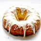 Brown Sugar Peach Bundt Cake