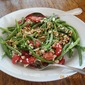 Fresh Green Bean Salad with Tomatoes, Feta and Toasted Walnuts
