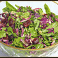 My Meatless Mondays - Spinach and Red Cabbage Salad