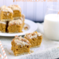 Pumpkin Cookie Bars with Butterscotch Chip Streusel