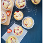 Extra Virgin Olive Oil, Strawberry & Cornmeal Cupcakes