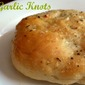 Homemade Garlic Knot Rolls