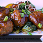 Asian Glazed Chicken Meatballs