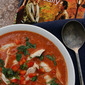 Smoky Chicken Paprikash Soup inspired by When Harry Met Sally {food 'n flix}