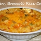 Chicken, Broccoli and Rice Casserole