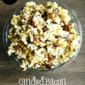 Candied Bacon Caramel Corn #BaconMonth