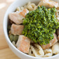 Easy Chicken and Pasta with Spinach Pesto Recipe