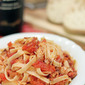 Linguini with Chicken Ragu
