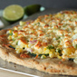 Corn, Zucchini and Lime Pizza