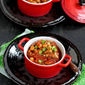 Spiced Mushroom, Chickpea & Tomato Stew Recipe {Vegetarian, Vegan}