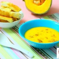 Pumpkin Garlic Soup