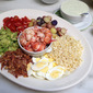 Lobster Cobb Salad with Buttermilk-Basil Dressing