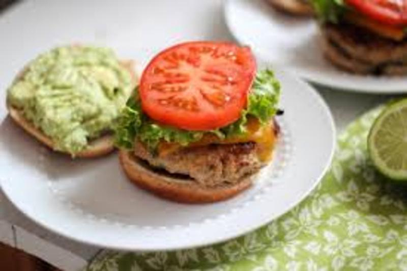Turkey Cheddar Chipotle Burgers Recipe by Robyn - CookEatShare