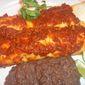 Chorizo Enchiladas with Achiote Sauce