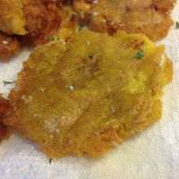 Tostones (aka Fried Plantains)