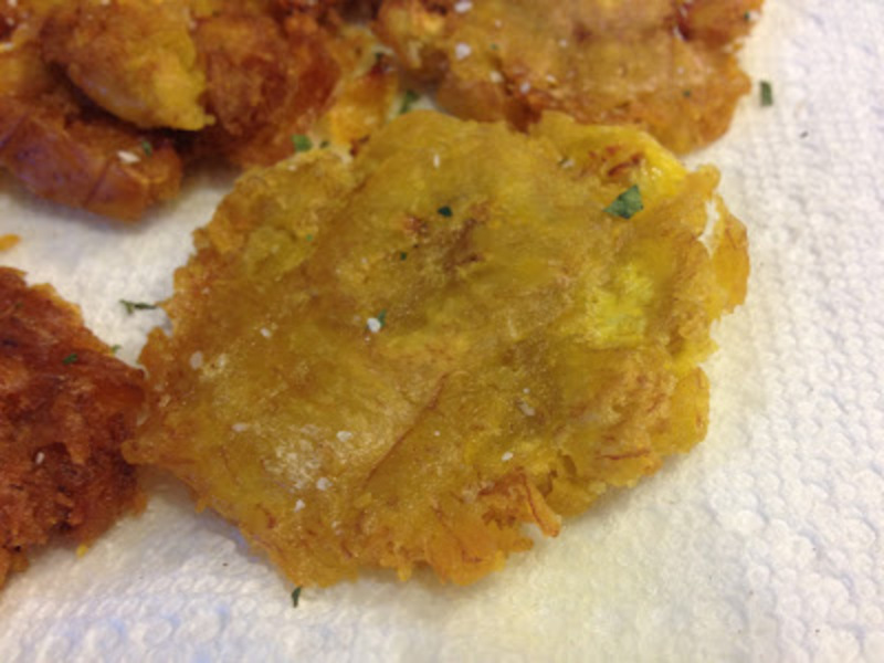Plantain Chips With Sea Salt (Tostones) Recipes — Dishmaps