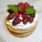 Trionfo di Fragole, Strawberry and Cream Cake