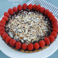 Chocolate Raspberry Coconut Almond Tart (Gluten/Grain/Dairy/Egg/Soy/Refined Sugar Free)