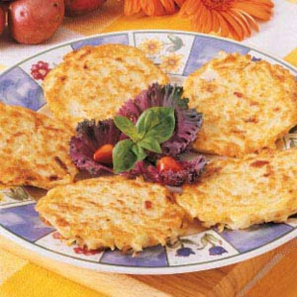 Bacon Potato Pancakes Recipe by Robyn - CookEatShare