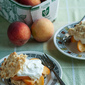 Peachy Keen: Gingery Fresh Peach Shortcakes