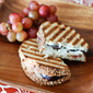 Fresh Fig, Goat Cheese, Honey, and Almond Panini